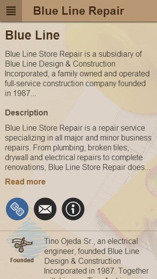 Blue Line Store Repair