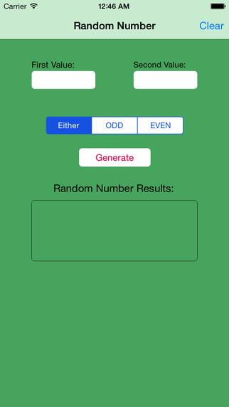 Random Number Generator Free