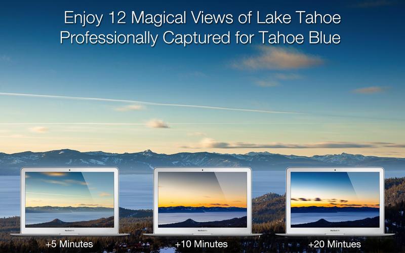 动态壁纸 Tahoe Blue for Mac