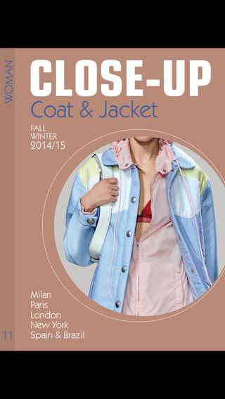 Close-Up Woman Coat Jacket