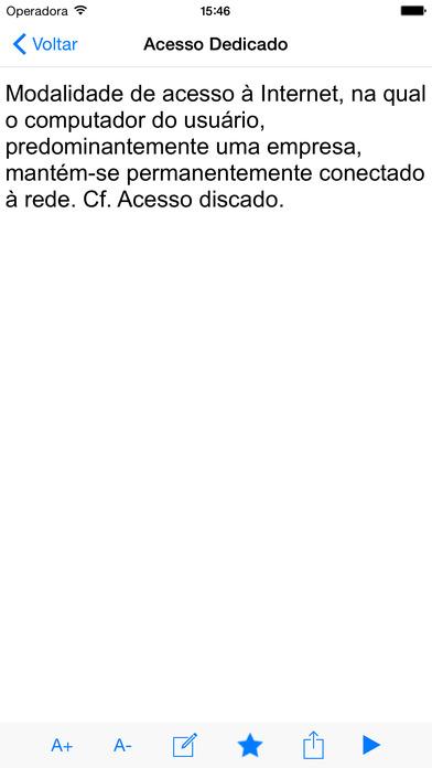 Dicionário de Informática iPhone Screenshot 2