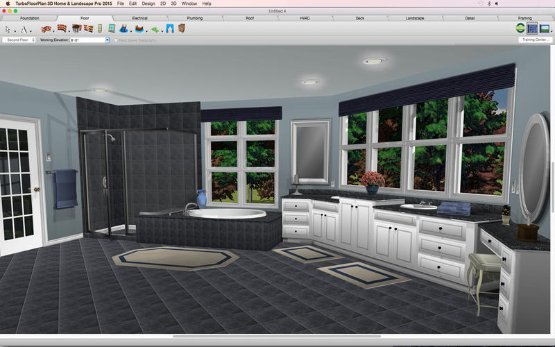 TurboFloorPlan 3D Home and Landscape Pro for Mac