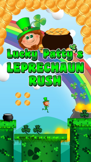 Lucky Patty's Leprechaun Run Plus - Super Clover Forrest World
