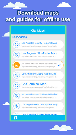 Los Angeles City Maps - Discover LAX with Metro Bus and Travel Guides.