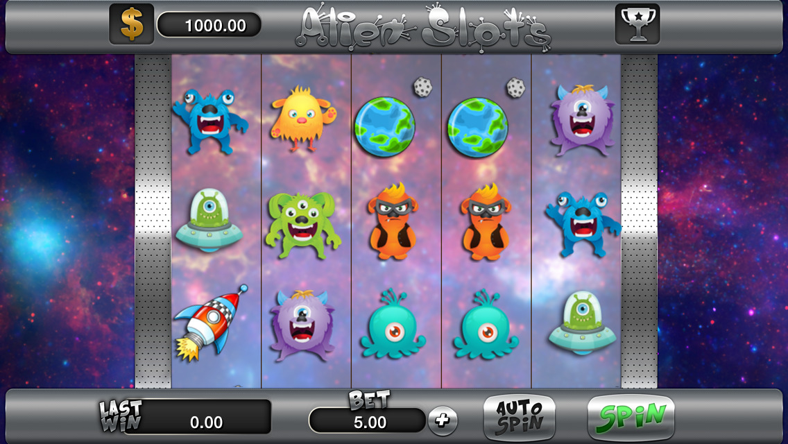 Aliens Z Slot Machine - Play this 777igt Casino Game Online