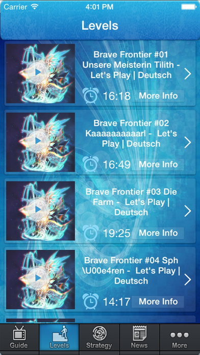 download Guide for Brave Frontier - Video And Tips Guide apps 3