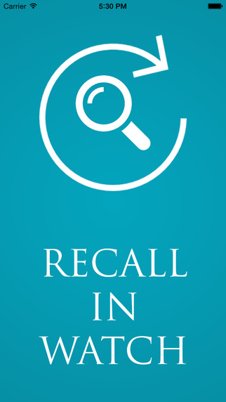 Recall in Watch