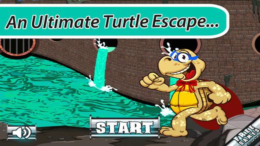 A Turtle Ninja Super Hero FREE - Sewer Escape Adventure Dash