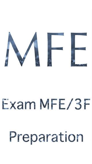 Exam MFE Preparation