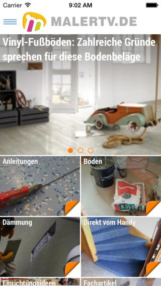 MalerTV - Erlebe Malerhandwerk