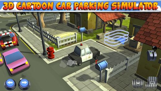 3D Cartoon Car Parking Simulator - Real Toy City Police Bus Truck Driving Park Sim Racing Games