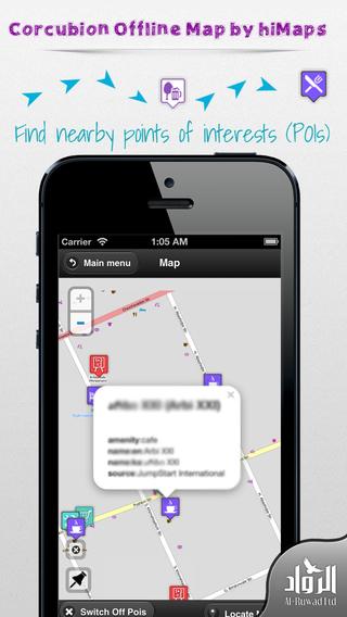 Corcubion Offline Map by hiMaps