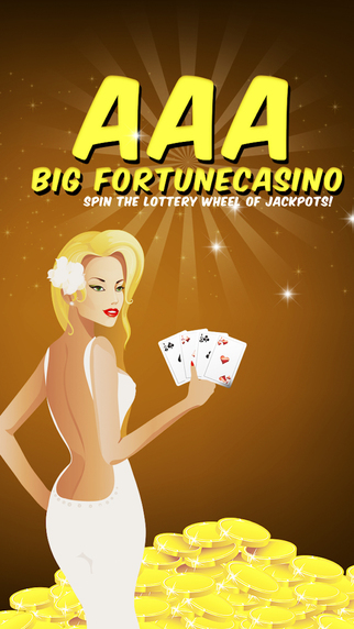 AAA Big Fortune Casino Pro - Spin the Lottery Wheel of Jackpots
