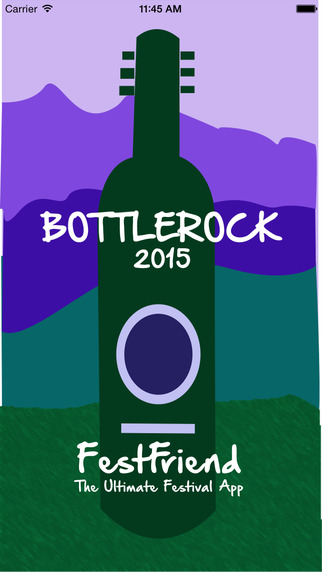 FestFriend for BottleRock 2015 Festival Napa Valley