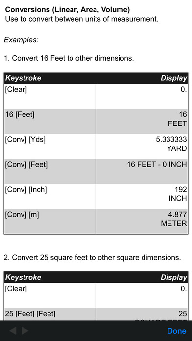 projectcalc classic feet inch fraction diy project calculator on the app store. Black Bedroom Furniture Sets. Home Design Ideas