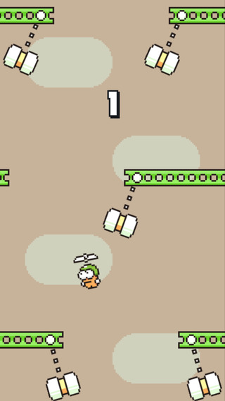Swing Copters Screenshot