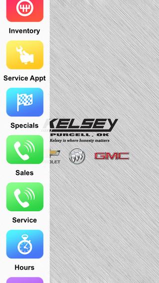 Kelsey Chevrolet Dealer App