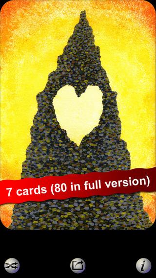 Angel Love Hearts LITE Oracle Cards - Seraphina Elvenstone