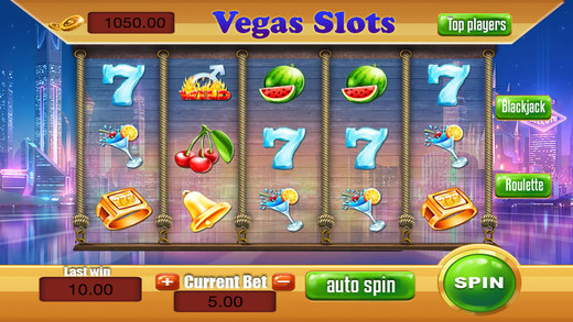 Bellagio Slots Night in Las Vegas Strip - Golden Win Slot Machine Jackpot Fortune Free 777 Blackjack