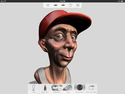123D Sculpt+ screenshot 2