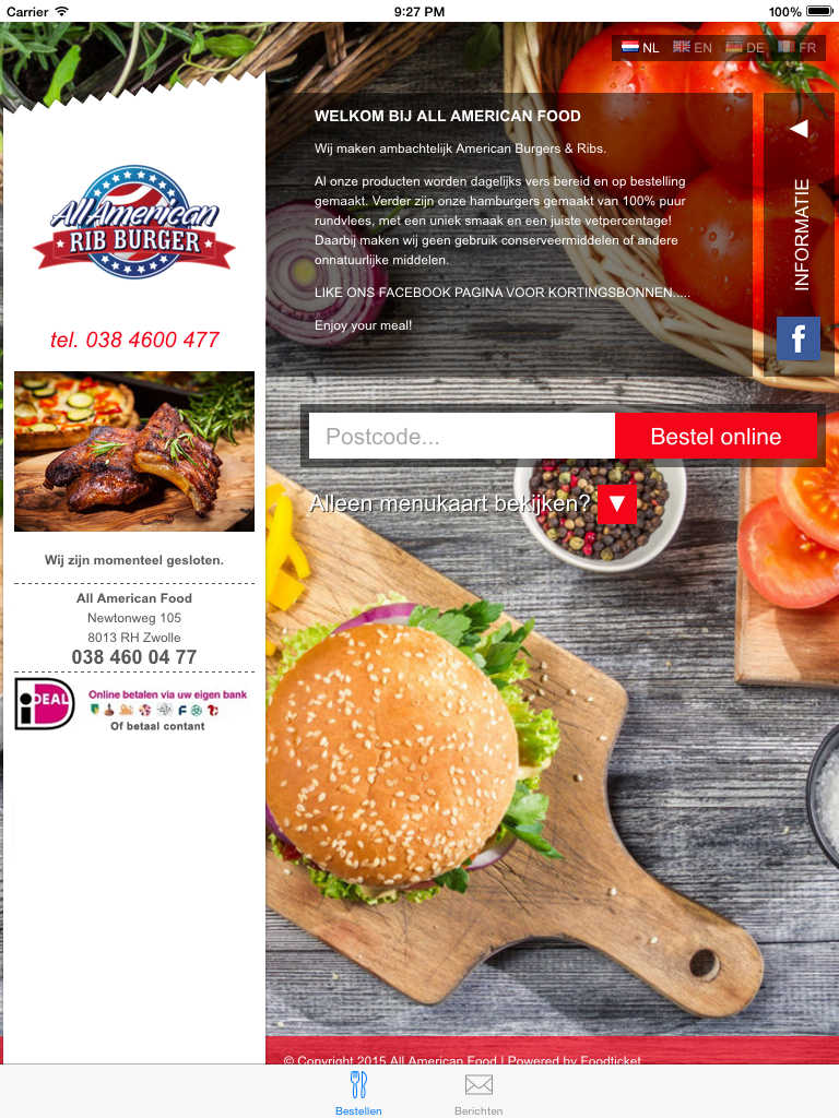 App shopper all american food food drink for All american cuisine