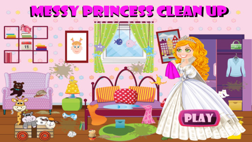 Messy Princess Clean up