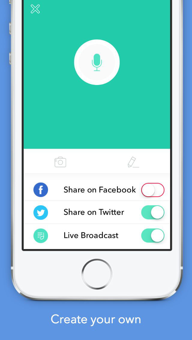 how to turn phone cammera into a live stream