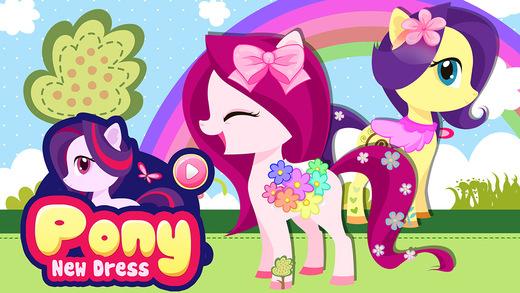 Rainbow Pony's New Dress - Pet Salon Adventures