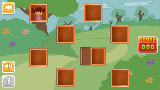 Matching Blocks for Dora The Explorer