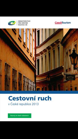 Cestovní ruch Česká republika 2013
