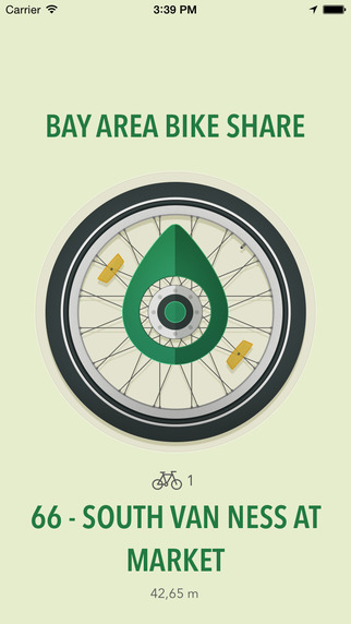 Bike Compass - Find city bicycles to rent