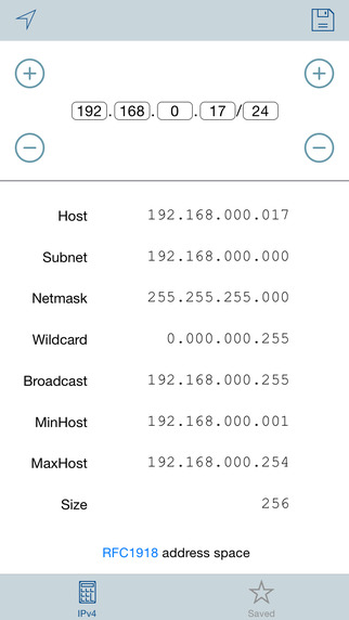 IP CIDR Subnet Calculator