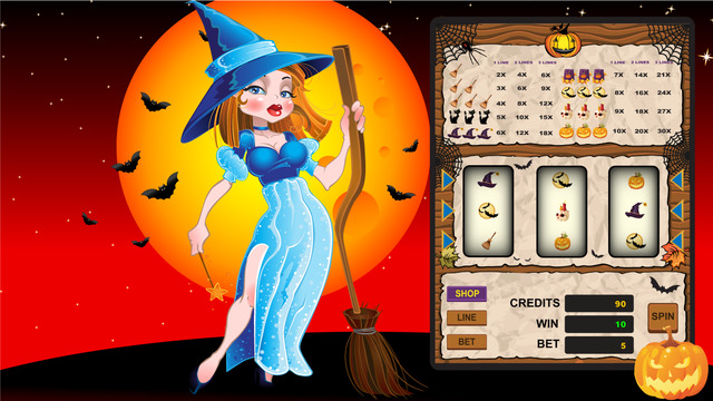 Horror Slots - All Hallows Eve monte carlo horror pokies machines