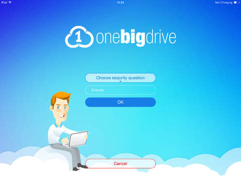 Secure Clouds for iPad – OneBigDrive