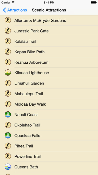 Kauai GPS Tour Guide iPhone Screenshot 4