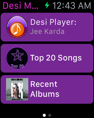 Desi Music: Free Unlimited Hindi Songs, Bollywood Radio Top 10 Hits & Videos Screenshots