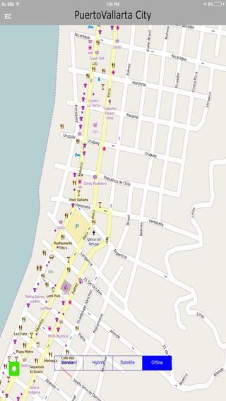 Puerto Vallarta Offline Maps