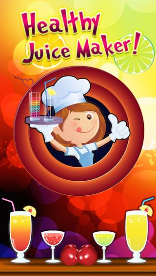 Healthy Juice Maker - Juicy Vegetable Smoothie with Orange Apple Carrot Straw-Berry Cream-y Fruit