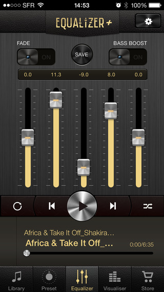 Equalizer + Music Player Volume Quality Booster