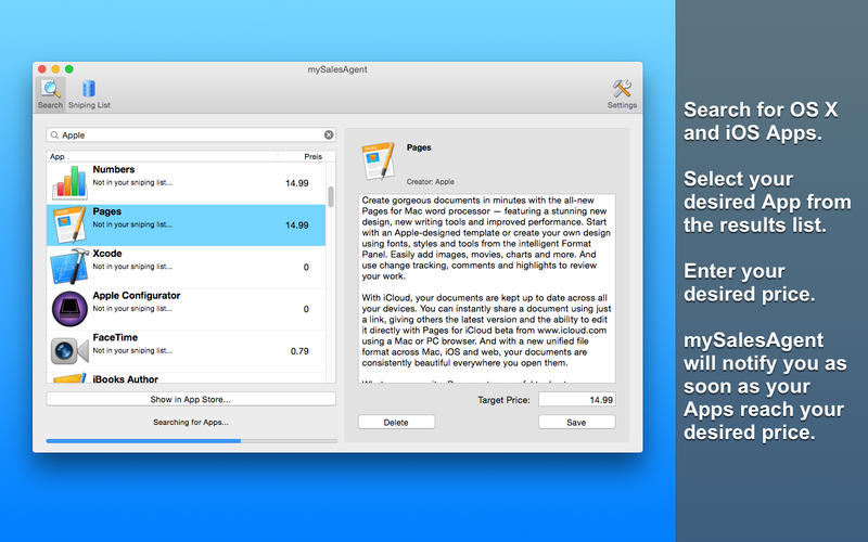 mySalesAgent Screenshot - 1