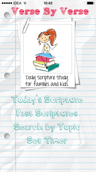 Verse by Verse FREE: Daily Scripture Study for LDS Families and Kids