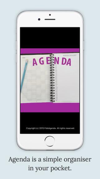 Agenda Personal Organizer