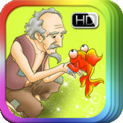 Fisherman and the Goldfish - bedtime fairy tale Interactive Book iBigToy