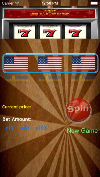 Flag Slot Machine