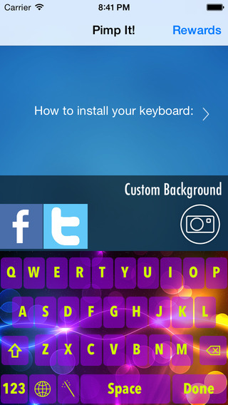 My Keyboard - Customize Your Keyboard for iOS 8