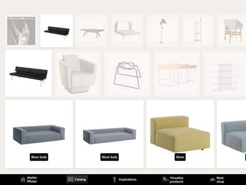 Atelier Pfister iPad Screenshot 2