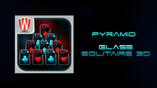 Pyramid - Glass Solitaire 3D