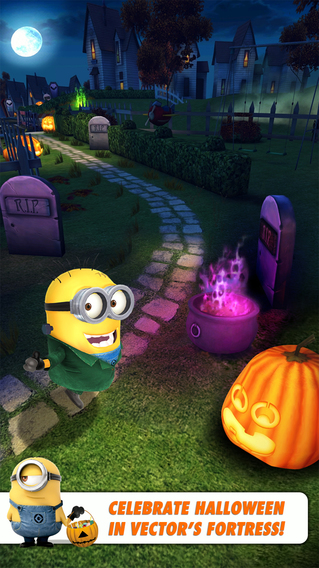 HACK] Despicable Me: Minion Rush v2.2.1 +1 - SiNfuL iPhone