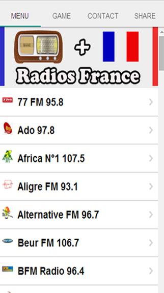 Radios Of France