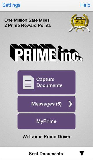 Prime Mobile - A Time Saving Tool for Prime Drivers